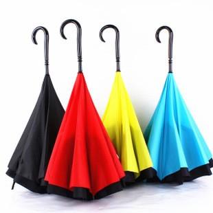 雙層反向傘遮陽傘雨傘 傘球棒摺疊傘反向傘汽車用品防曬防水雨衣雨褲雨鞋抗uv 隔離紫外線太陽
