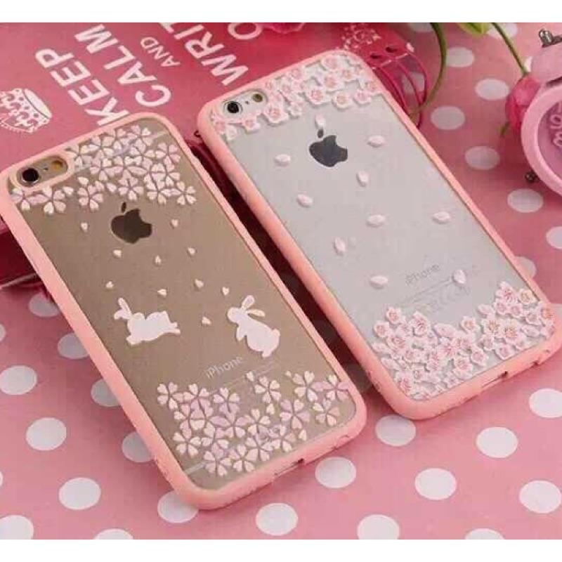 iphone6plus 6splus 浪漫少女櫻花系列手機殼iphone6plus 櫻花手