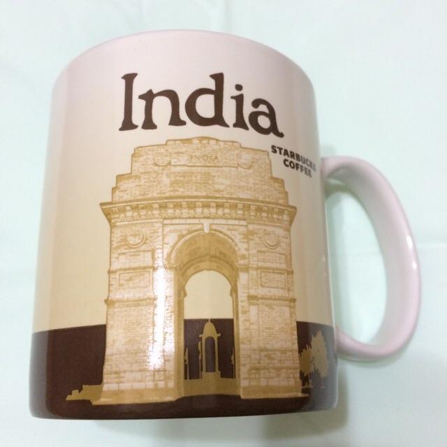 星巴克城市杯印度