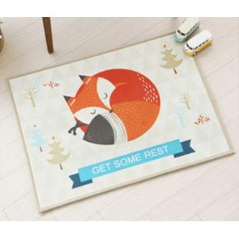 新品 韓式小狐狸防滑地墊