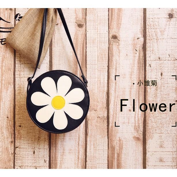 潮 女包斜挎包可愛花朵單肩包甜美 包女小包包