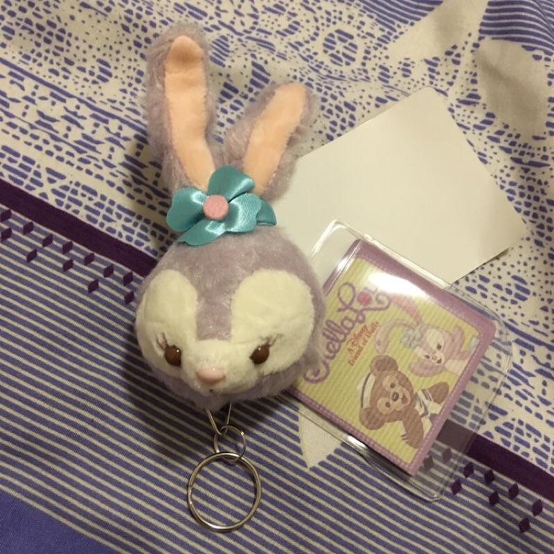 ✨ ✨達菲好朋友stella lou 史黛拉兔子可愛伸縮鑰匙扣卡通包掛件