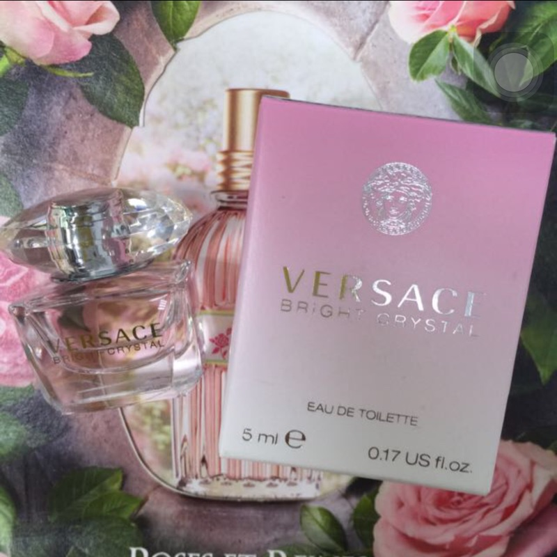 VERSACE Bright Crystal 凡賽斯香戀水晶女性淡香水迷你小香水5ml