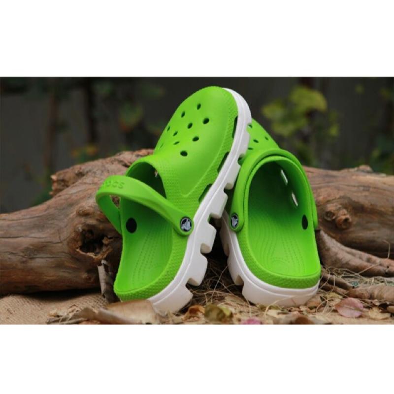 ✅正品crocs 卡羅馳沙灘鞋迪特動力洞洞鞋拖鞋涼鞋男鞋女鞋實圖