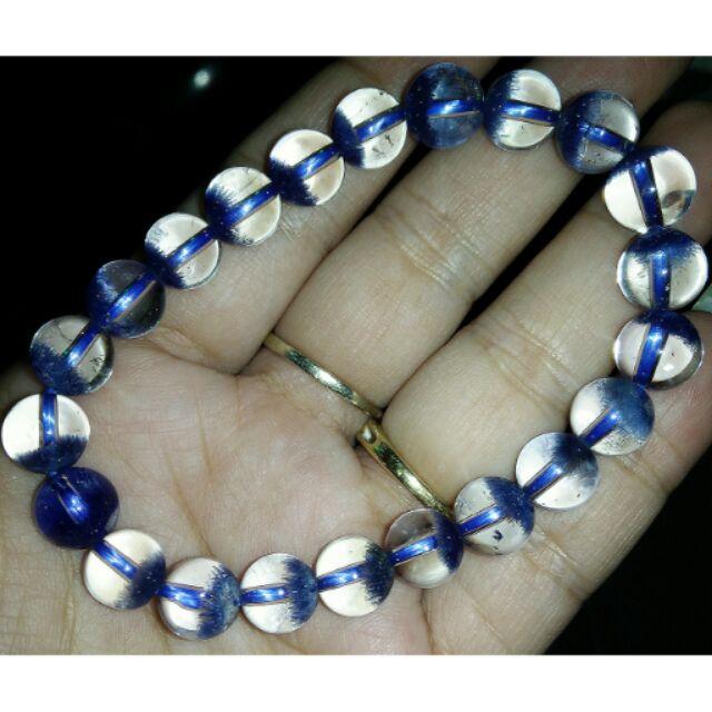 OMG 的~ 少有特殊藍線水晶手珠