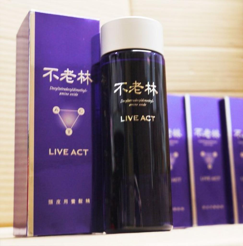 SHISEIDO 資生堂Live Act 不老林頭皮用養髮精200ML ~MUSE 愛美神