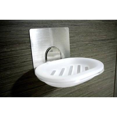 MIT  肥皂盒掛鉤無痕防水收納架