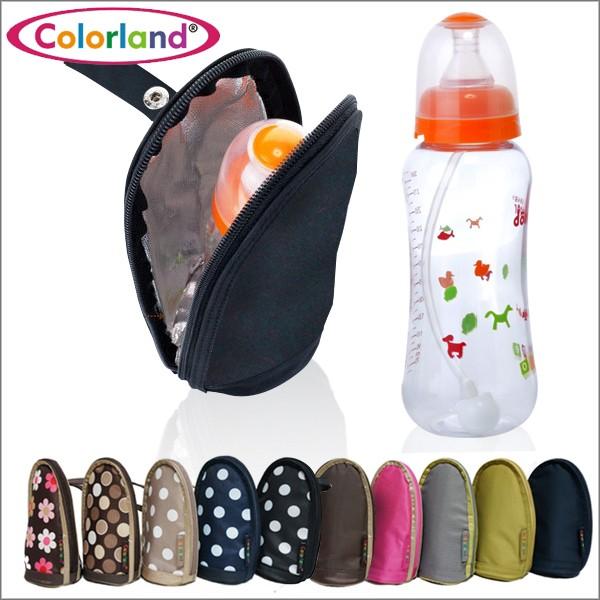 可掛可提奶瓶保溫袋Colorand 奶瓶袋外出攜帶~TT041 ~