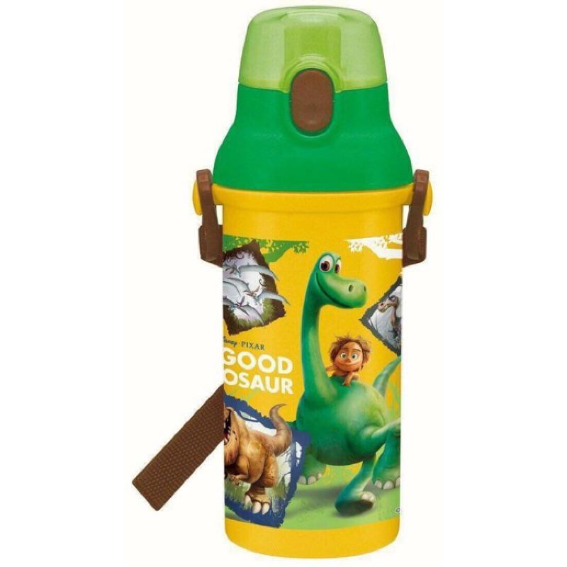~霏霓莫屬~ 製~恐龍當家~迪士尼直飲式水壺幼稚園攜帶水壺冷水壺兒童水壺彈蓋附背帶480m