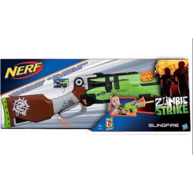 [濛濛家] NERF 打擊者大獵槍彈夾彈匣吸盤水彈槍子彈殭屍zombie