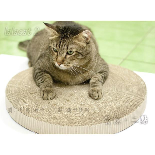 大餅抓板40 號圓型貓抓板直徑40cm 高約4cm 限宅配goodcat32