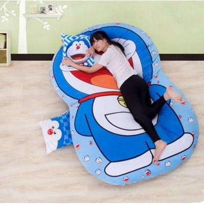 opp6756 榻榻米床墊卡通懶人沙發床單人睡墊可愛臥室小沙發保暖公仔床墊