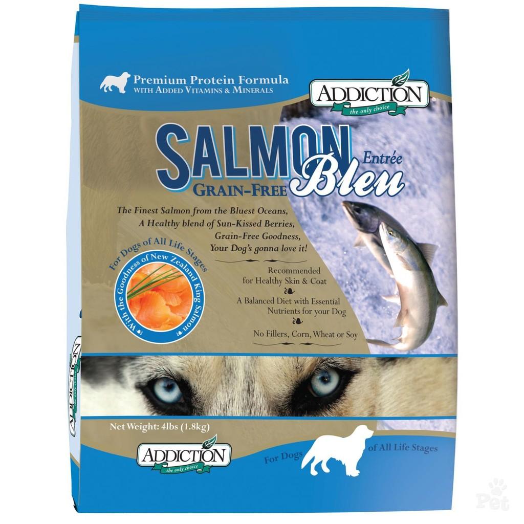 自然癮食~藍鮭魚~狗無穀飼料,ADDICTION 紐西蘭天然糧WDJ 幼犬成犬飼料