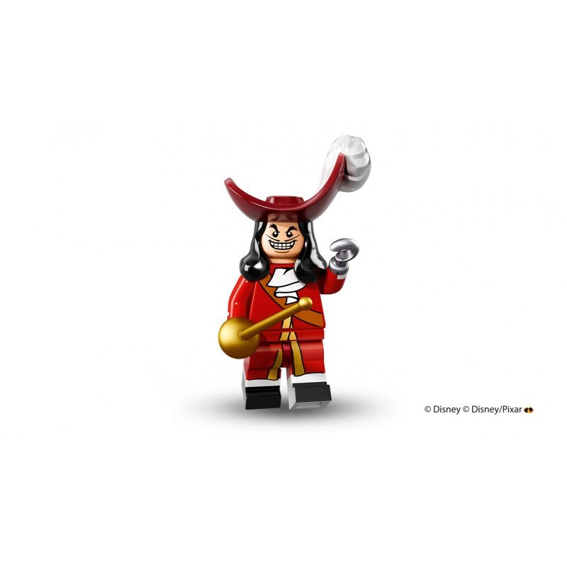 LEGO Disney Minifigures Captain Hook 迪士尼71012