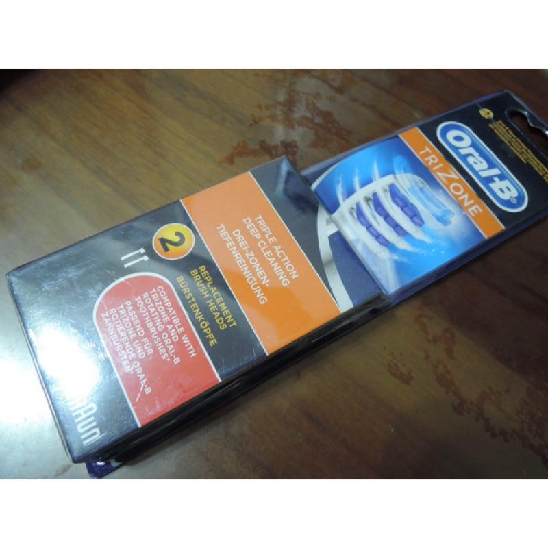 Oral B 百靈O 樂B 電動牙刷刷頭TRIZONE 三重掃動EB30 2 一卡2 入裝