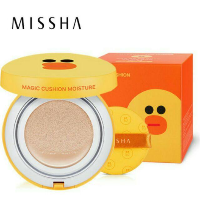MISSHA ×Line 聯名氣墊粉餅可拆售莎莉保濕款23 自然色