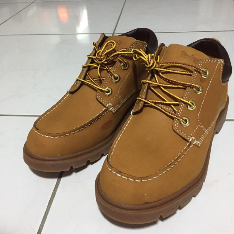 [全新微瑕] Timberland男款小麥黃正絨面皮革牛津鞋