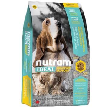 紐頓~I18 ~體重控制犬~雞肉豌豆~nutram 理想系列加拿大狗飼料成犬飼料