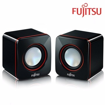 FUJITSU 富士通USB 電源多媒體喇叭PS 110 ~輕巧不佔空間~