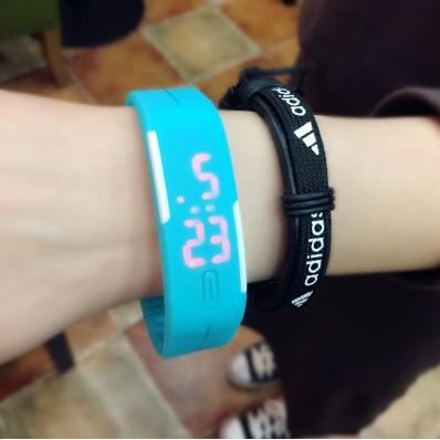 電子錶男女LED 手錶觸控夜光男女韓國 潮流學生 手環兒童錶