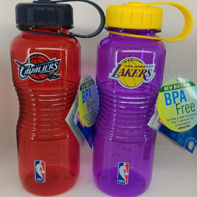 NBA 水壺BPA Free 湖人隊騎士隊紫紅