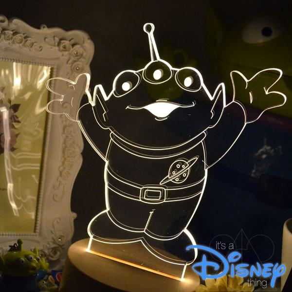 RA Design 3D LED 小夜燈美國 師三眼怪~ 1280 元~迪士尼玩具總動員毛
