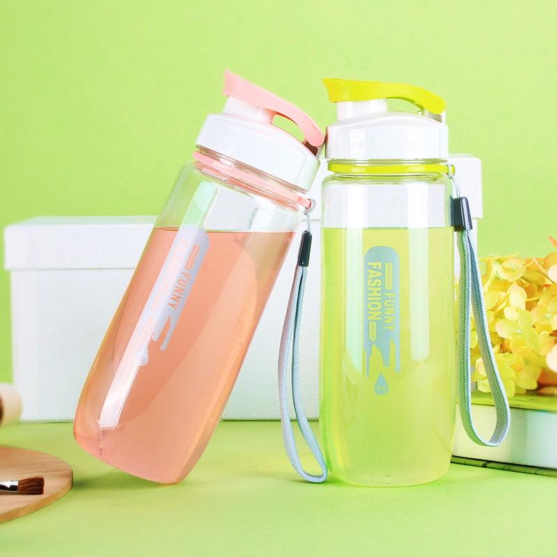 韓國過濾 水壺帶蓋 情侶水杯便攜隨手杯子塑料學生水瓶