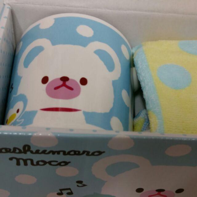 藍熊手繪童話風格馬克杯 帶回