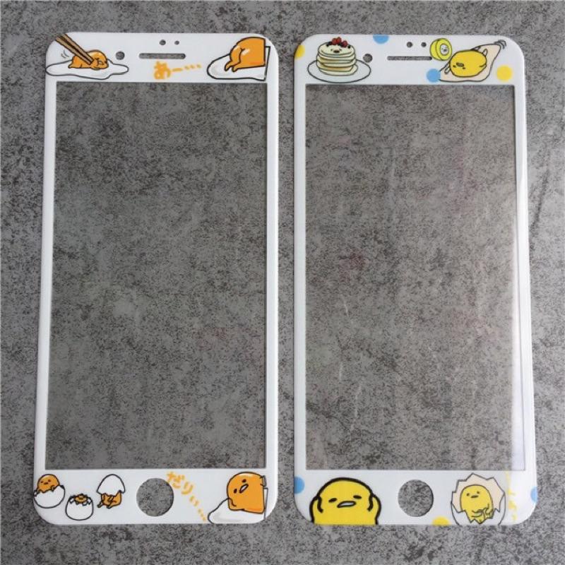 iphone6s iphone6plus 不挑款圓弧面全屏滿版9H 鋼化玻璃膜蛋黃哥iph