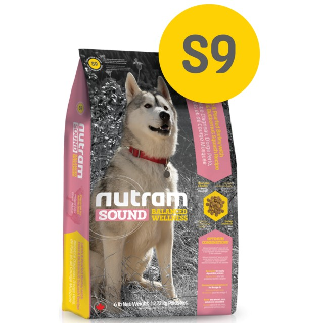 ~MINI PETS 小舖~WDJ 狗糧加拿大Nutram 紐頓均衡健康系列S9 成犬羊肉
