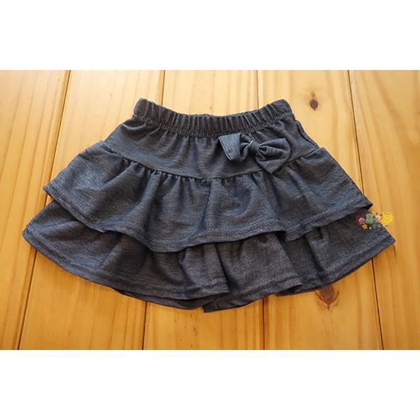 5062 中小童5 13 號 製薄款蛋糕裙褲仿牛仔褲裙裙子