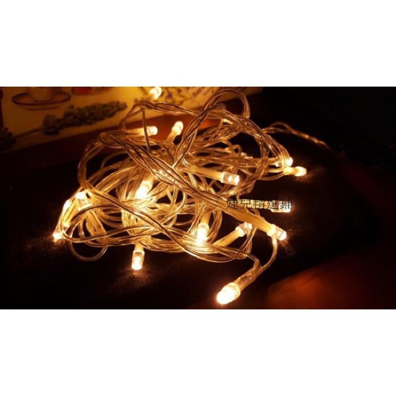 訂製燈串2 米20 燈直線式﹀﹀﹀燈串聖誕燈串泰國球燈聖誕樹裝飾替換燈串燈泡LED 插電款