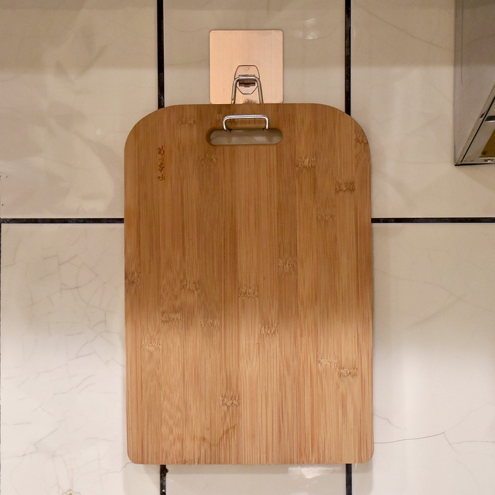 砧板架砧板掛勾砧板收納架304 不鏽鋼無痕掛勾無痕貼舒適家巧妙貼壁掛式瀝水架廚房瀝水置物架