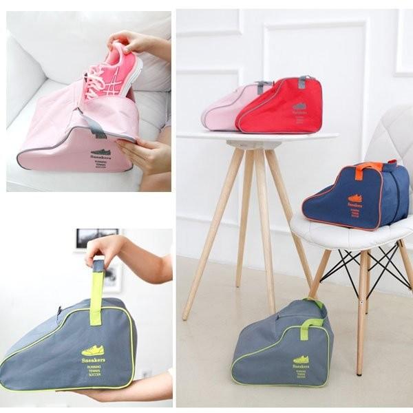 寶貝 館 可手提旅行鞋子收納袋整理包家居鞋類保護袋收納包 戶外鞋子收納包鞋袋鞋包