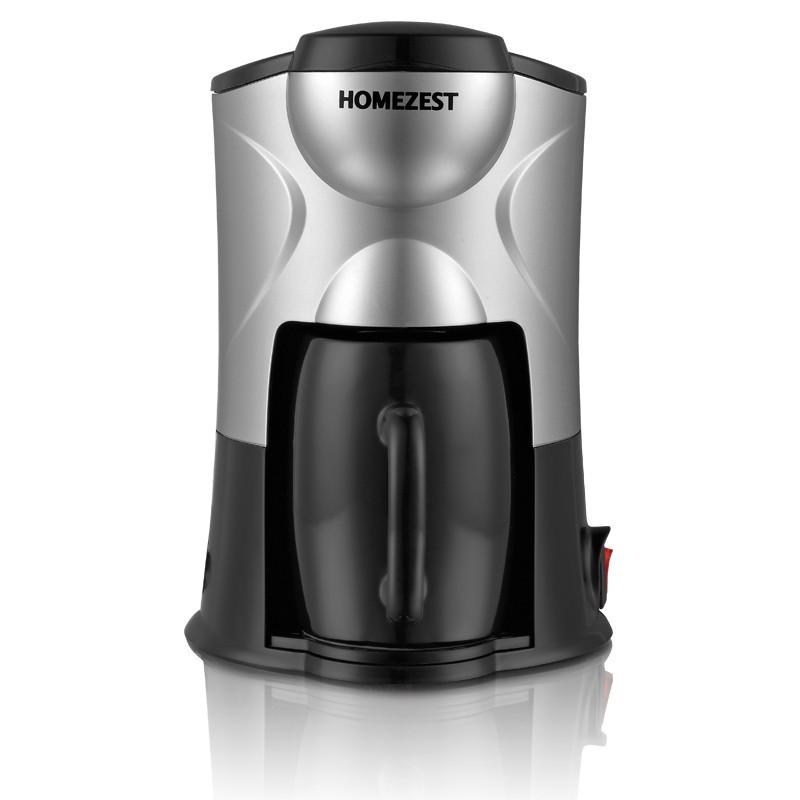 單杯咖啡機家用迷你小型便攜辦公室美式滴漏式速溶HOMEZEST 半自動