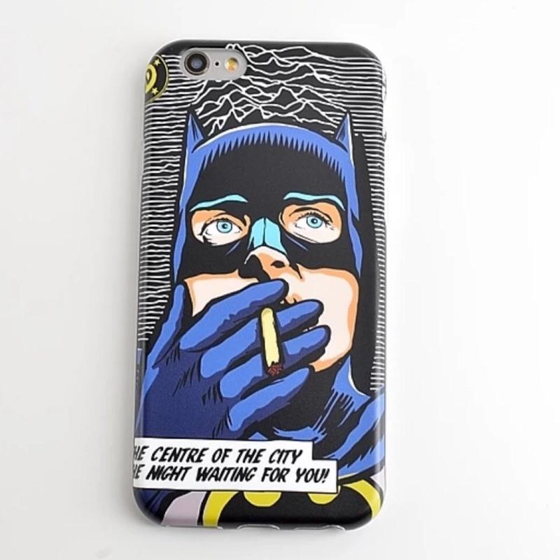 惡搞系列之蝙蝠俠iphone6 iphone6plus 手機保護套手機殼