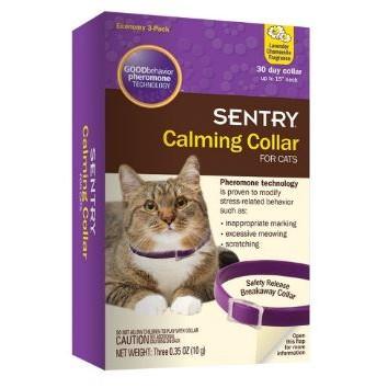 ~小虎寵物~ 費洛蒙項圈盒裝拆賣貓冷靜項圈Sentry Calming Collar Fe