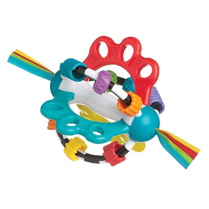 快樂屋附發票Playgro 探索滾滾球明亮鮮豔的用色 吸引寶寶的注意力、刺激寶寶的視覺