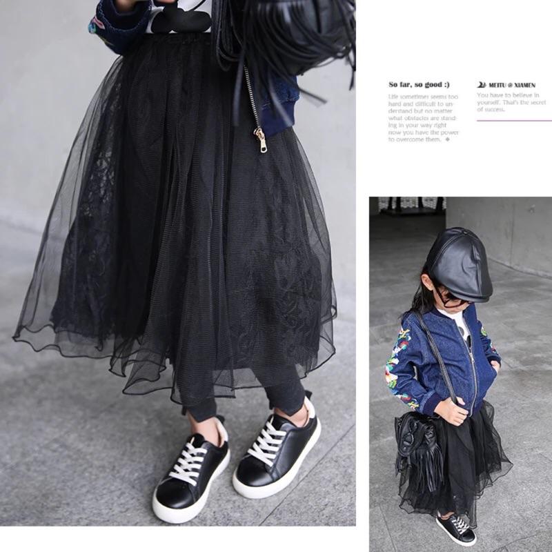 女童裙子秋2016 新品秋裝 兒童小女孩 蕾絲女寶寶公主紗裙