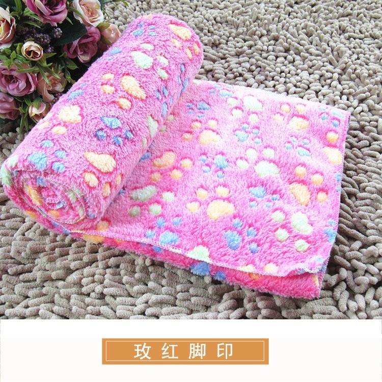 ~滷蛋 館~ 高密度寵物用爪子印花 加厚珊瑚絨毛毯睡毯3 色3 尺寸11 月20 日到货