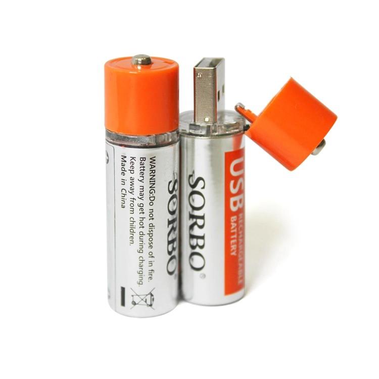 DuoE 的雜貨舖 USB 充電鋰電池3 號AA 1 5V 低自放非鎳氫1 2V enlo
