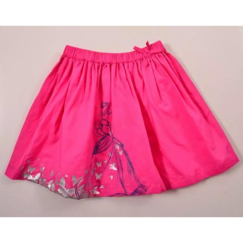 ⛱ ⛱英國Mothercare 女童灰姑娘公主風及膝裙短裙迪士尼