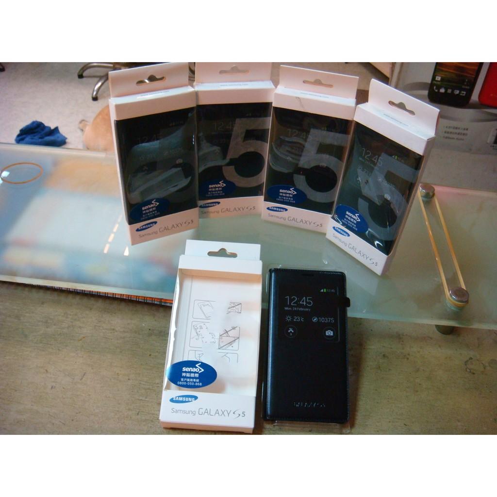 超 三星Samsung S5 G900 透視感應皮套保護套保護殼手機套 貨神腦代理