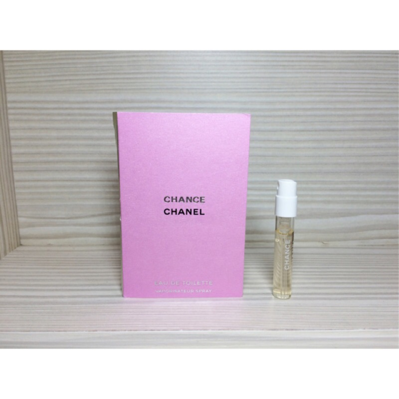 CHANEL 香奈兒CHANCE 黃色EDT 淡香水1 5ml 可噴式試管香水 稀有