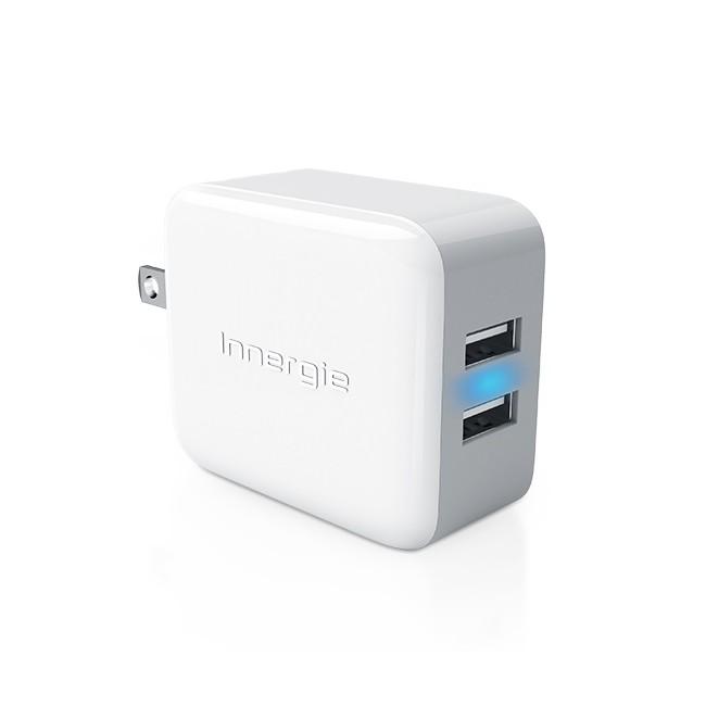 送蒙恬名片王~3 年 ~Innergie PowerJoy Pro 24 瓦雙USB 充