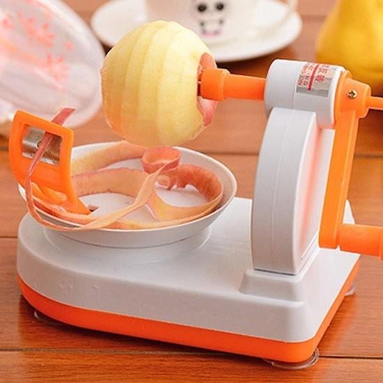 Colo me ~M37 ~手搖式蘋果削皮器廚房果蔬瓜果去皮廚房去核多 刨刀 削水果皮削蘋