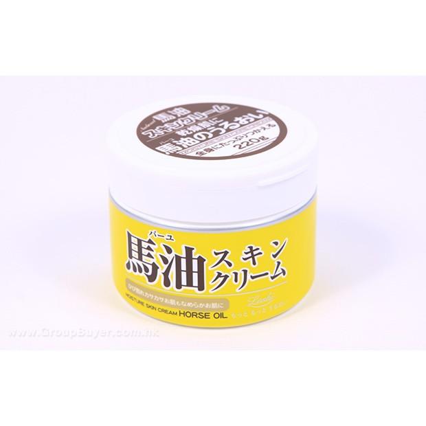 Loshi 馬油保濕乳霜220g 有中文標