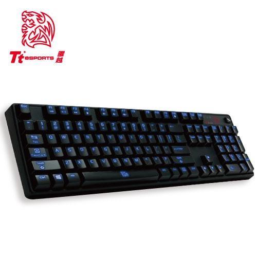 ~曜越波賽頓POSEIDON 電競鍵盤~全背光青軸茶軸電競 機械式鍵盤
