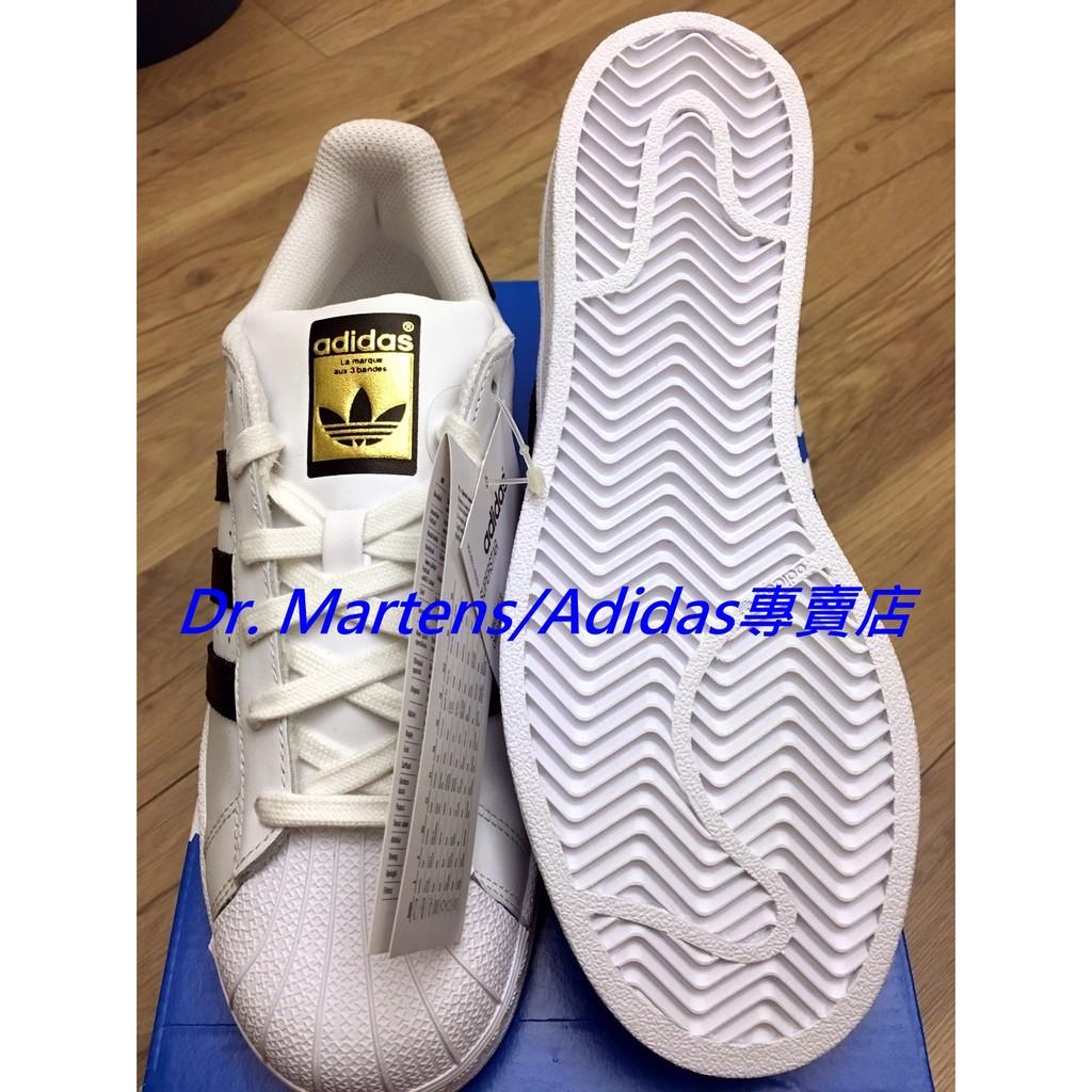 ~Dr ift X 英國 ~ 正品Adidas Superstar 金標C77124 黑白