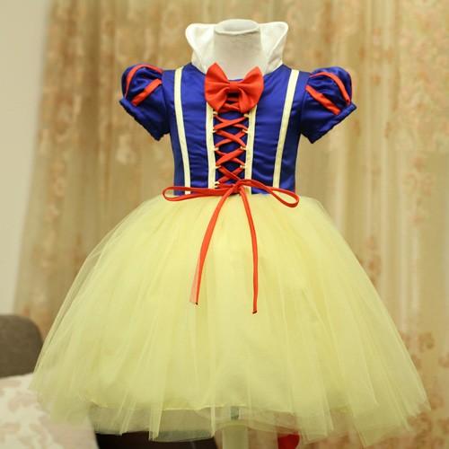 兒童公主裙表演服裝女童聖誕節萬聖節化裝舞會公主裙演出服禮服